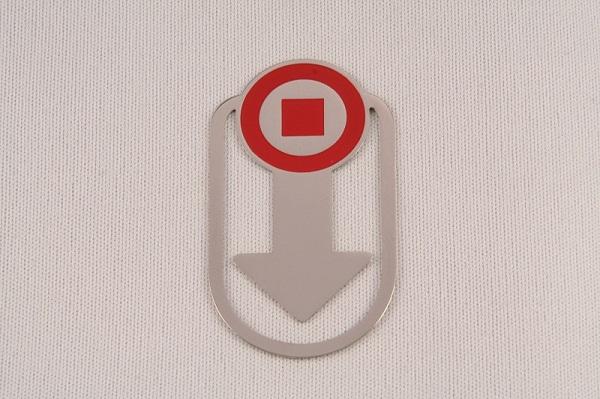 Metalllesezeichen